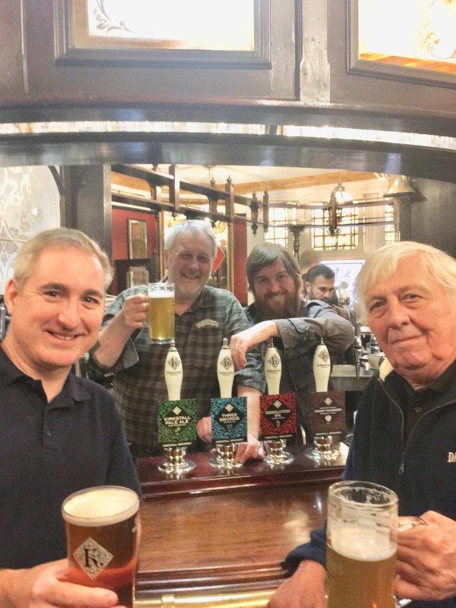 With John Rowe Steve & John K